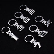 Car 3d Alloy Key Chain Keychain Emblem Key Rings Emblem For Chevrolet Cobalt Celta West Uplander Cavalier Astra(China)
