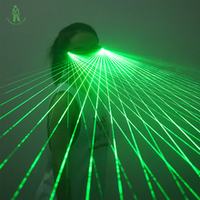 Free Shipping LED Laser glasses Green/ red Light Dancing Stage Show DJ club Party Red Green Laserman Show glasses цена 2017