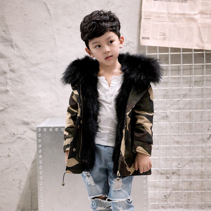 Free ship Children raccoon fur Coats Freezing Cold Winter Kids Real Fur Parkas  raccoo Boys National Fur Coats Girls Fur Outwear winter fashion kids girls raccoon fur coat baby fur coats