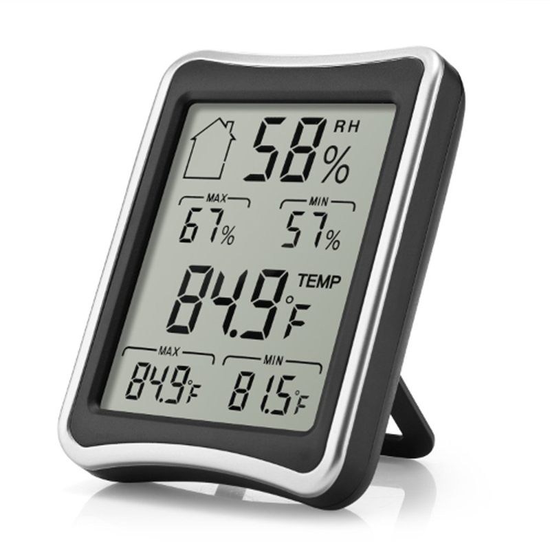 Eaagd Hygrometer Thermometer Indoor Humidity Monitor With