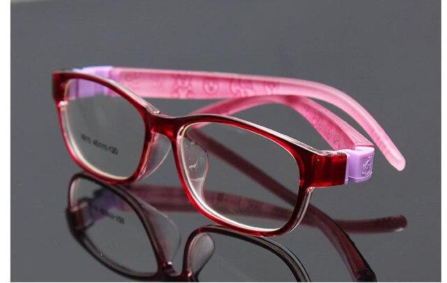 fe0f56db6c3fc Menino Menina Sólida Flexível Macio Infantil Crianças armações de óculos  Crianças Óculos de Armação de prescrição