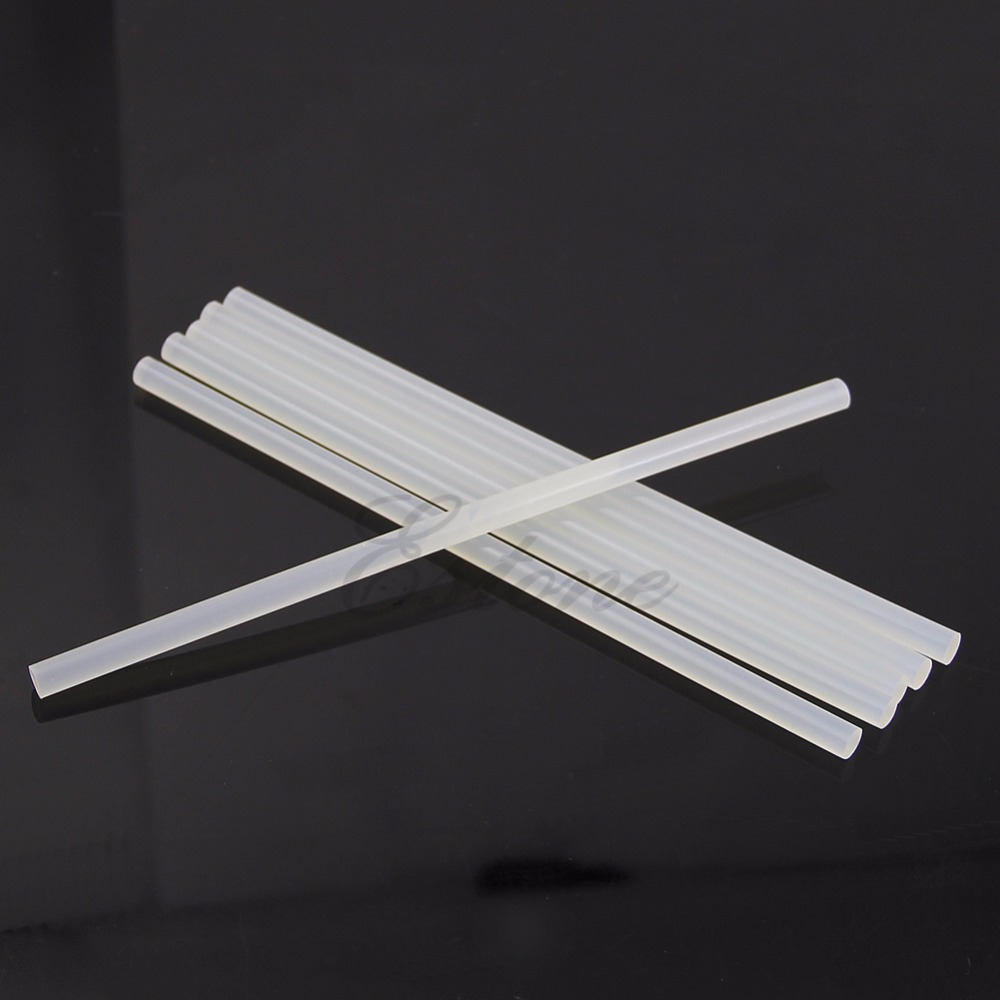 6Pc/lot Glue Stick 7*190mm Hot Clear Melt Glue Sticks Adhesive For Electric Glue Gun Art Craft MAR28_45 glue sticks 15 lbs clear economy glue sticks 7 16 x 10 270 sticks