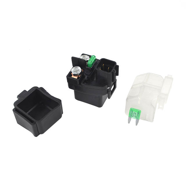 US $24 44 12% OFF|AHL Motorcycle Starter Solenoid Relay Ignition For SUZUKI  ATV LT A400FZ LT A400Z KINGQUAD 400 ASi LTA400FQ King Quad 400-in