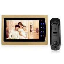 Homefong 7 Touch Button Video font b Door b font Phone Intercom 800TVL CMOS 1 4