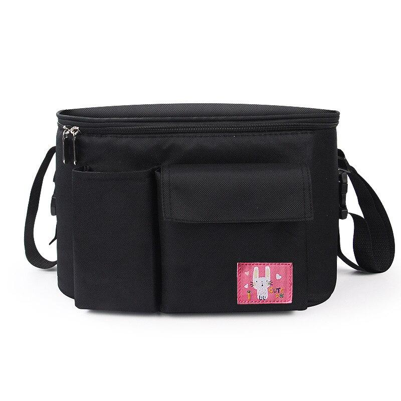Diaper Bag Baby Stroller Organizer Hanging Nappy Bag Large Capacity Travel Backpack Pram Buggy Cart Waterproof Maternity Bag