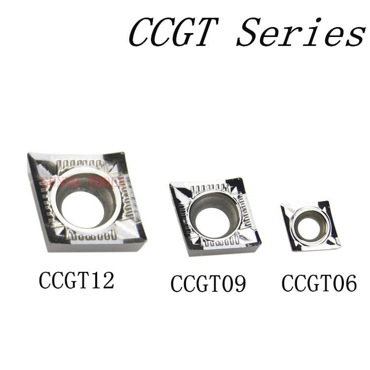 10pcs/set CCGT060202/CCGT060204/CCGT060202 -AK HO1 KORLOL Aluminum Carbide Insert SCLCR1212H06 SCLCR/SCLCL Or SCMCN/SCACR