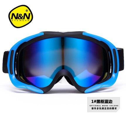 Double anti-fog ski goggles cocker myopia ski mountaineering glasses male and female models big ski gear cylinder pyramex venture gear pagosa sw518t anti fog