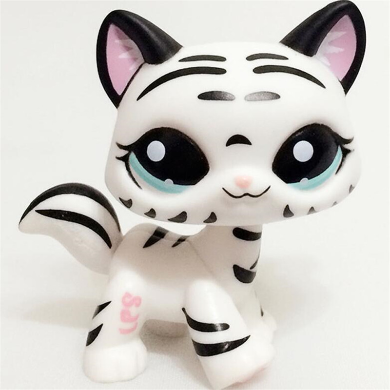 Lps Pet Toys Short Hair Cat Super Mask Pink #2291 #852 #336 black #994 dachshund #556 #640 collie #2210 #great dane toys pet shop toys dachshund 932 bronw sausage dog star pink eyes