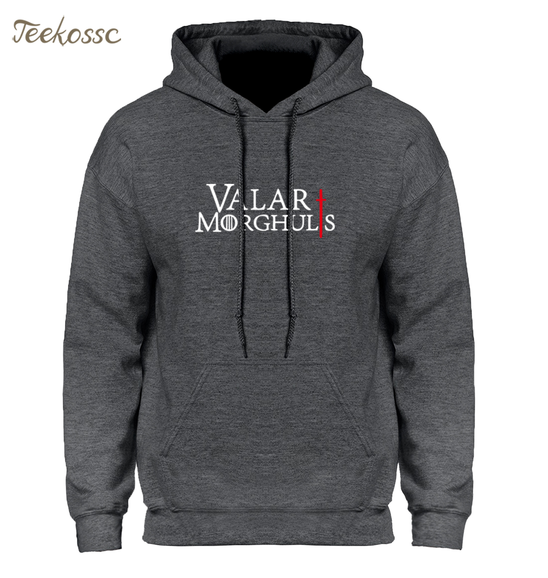 Game Of Thrones Valar Morghulis Hoodie Hoodies Sweatshirt Men 2018 New Fashion Winter Autumn Hooded Hoody Hip Hop Brand Clothing