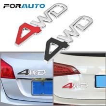 3d metal para a cauda do carro pára-brisa lateral traseiro fender quatro rodas caminhão emblema emblema decalque 4wd logotipo reflexivo carro adesivo