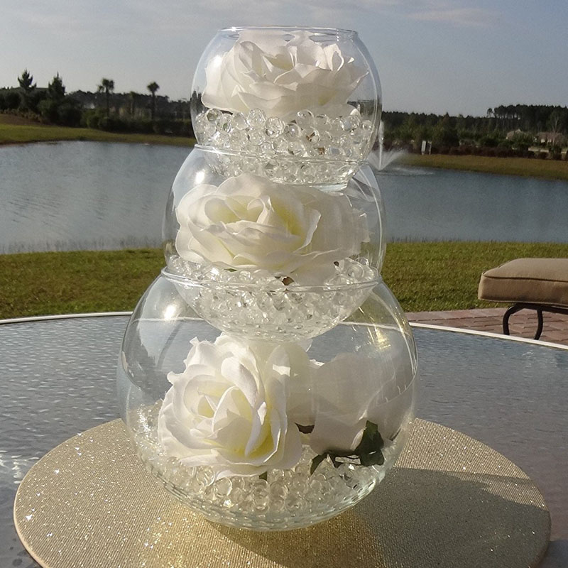 Top 8 Most Popular Crystal Flower Vase Centerpiece Ideas And Get Free Shipping A185