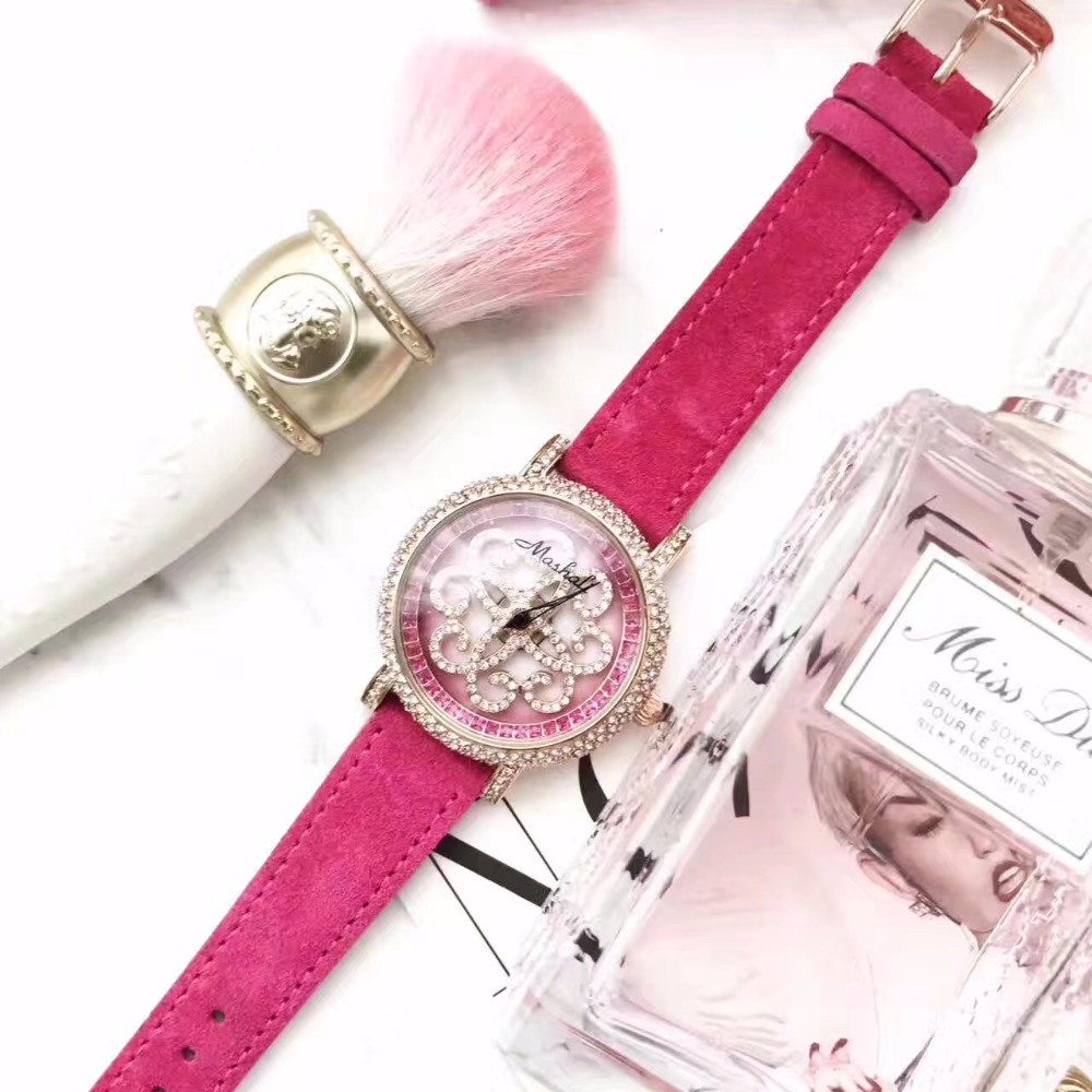 New Arrival Famous Brand Full Crystal Rotate Watch Women Luxury Zircon Rhinestone Watch Best Gift For Girl relojes mujer 2017
