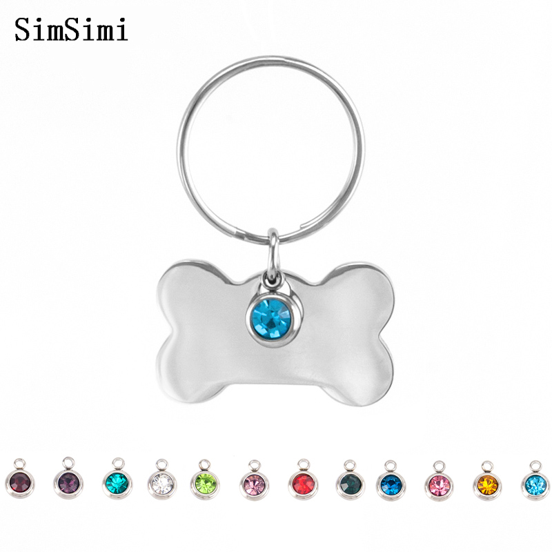 Good Simsimi Koala Birth Stone Women Choker Necklace Stainless Steel Pendant Jewelry Rolo Chains Kolye Female Gift Necklaces 12pcs Sale Price Jewellery & Watches