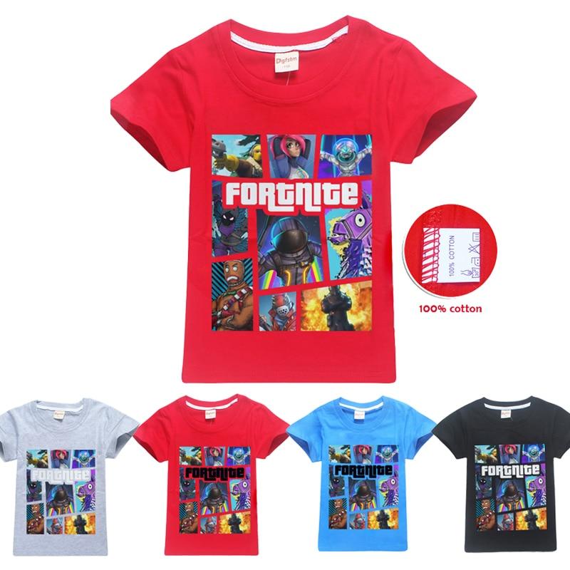 c1c68ba3 Comfortable Summer T Shirts Fortnite Battle Royale Legend Gaming Pattern  Tops Baby Girls Boys T-Shirt ...