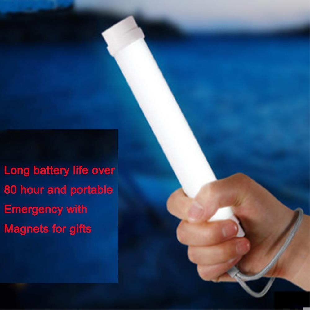 Smart 2W Handheld LED Camping Licht super leistungsstarke helle 200lm Angeln Beleuchtung USB wiederaufladbare Tischlampe mit Batteriemagnet