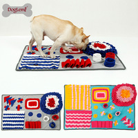 Dog Snuffle Mat Slow Feeding Dog Cat Food Mats Nosework Pet Activity Training Blanket