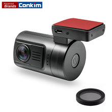 Conkim Mini DVR Car Video Recorder Ambarella A7 Super HD 1296P 1080P Full HD HDR Dash Camera GPS Tracker Mini 0806s w/32G 64G TF