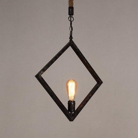 Loft Style Hemp Rope Droplight Edison Pendant Light Fixtures For Dining Room Hanging Lamp Vintage Industrial Lighting Lamparas