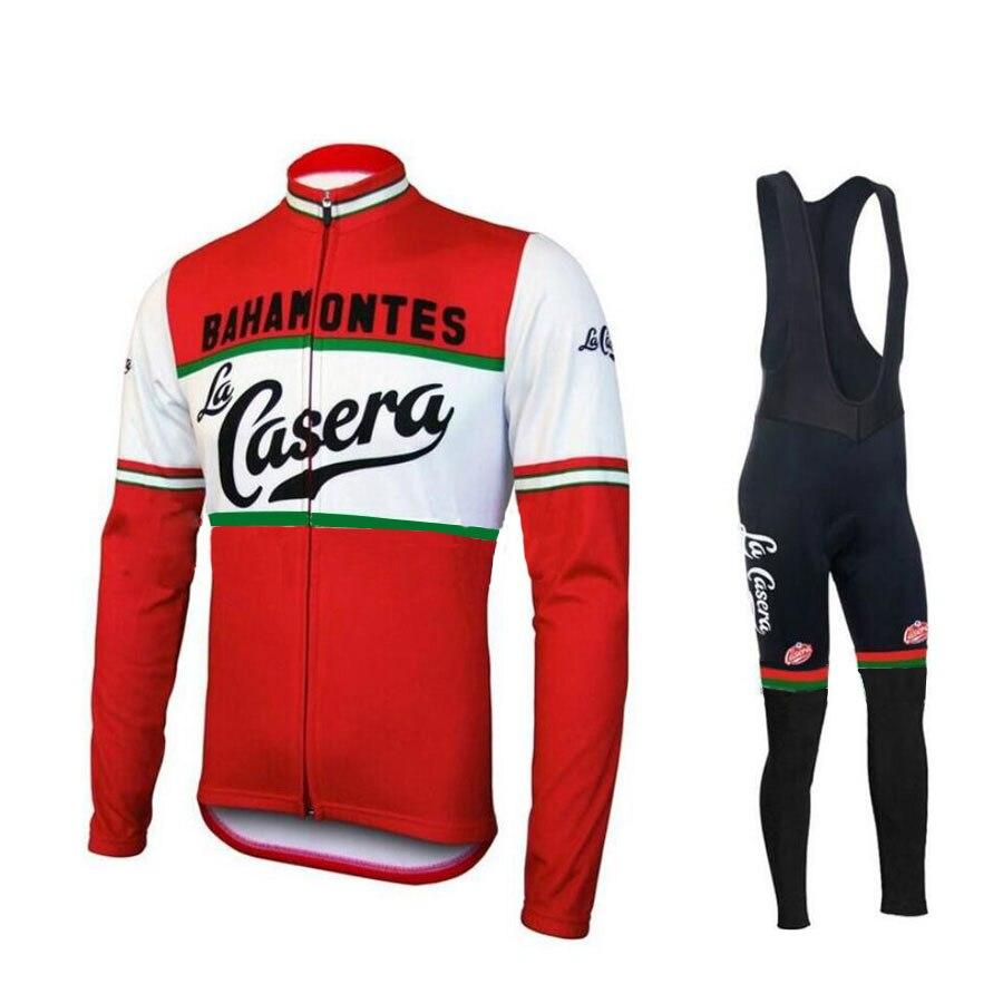 ФОТО Winter Thermal Fleece Cycling Jersey Set Long Sleeve Keep Warm Ropa Ciclismo Invierno MTB Bicycle Wear Bike Clothing