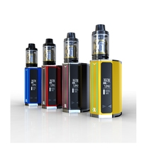 Real IJOY EXO 360 KIT Vaporizer Digital Cigarette Equipment220W/ 360W Field with 5ml EXO XL Tank Full Equipment Okay03