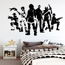 Hot Battle Royale ps4 gamer Wall Sticker Art Paper For Bedroom Kids Room Nursery Decoration Vinyl Decal