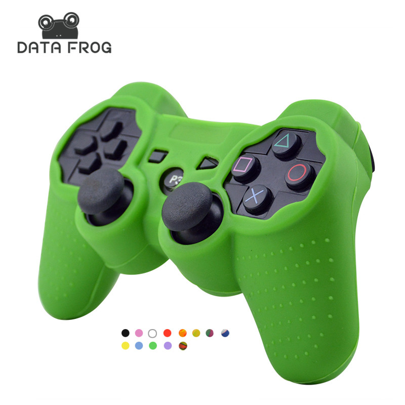 for Sony Playstation 3 Controller Silicone Case Protective Skin Cover Wrap Case for PS3 Controller Joystick Gel Rubber for PS3