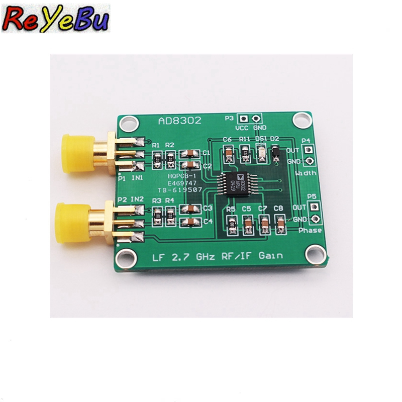 5Pcs AD8302 2 7GHz RF/IF Gain Phase Detector -30 to +30dB Module