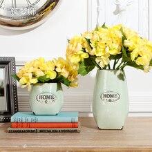 American standard vintage ceramic vase flower floral device home decoration g066