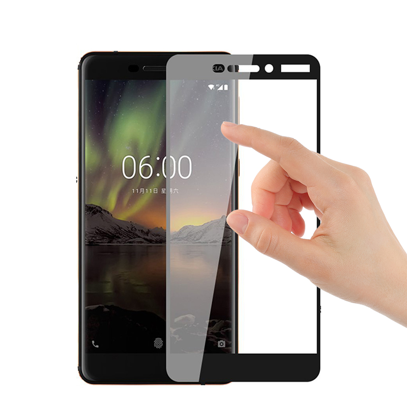 3D Full Cover For Nokia 6.1 2018 Tempered Glass Screen Protector For nokia 2.1 3.1 5.1 7.1 8.1 2018 Glas Protective Glass Film Pakistan