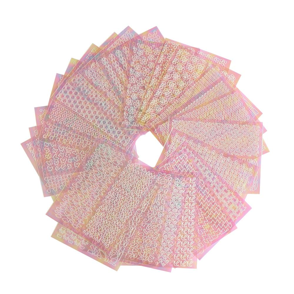 Random Pattern 6 24 Sheets Ab Color Christmas Unicorn