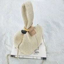 Women Vintage Handmade Knit Fashion Shoulder Bag (3 colors)