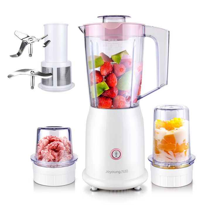 Jo Multi-function Cooking Machine 2 Speed 3 Cups 3 Blades Baby Feeding Fruit Juicers Meat Grinder Food Mixer Blenders free shipping arrange machine multi function mixer juicing js30 230 blenders