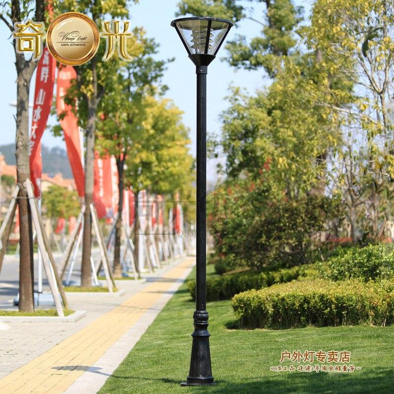 3 M Outdoor Garden Lights Street Lamp Pole Residential Landscape Park Lights  Project Light Fixtures Odd Impression On Aliexpress.com | Alibaba Group