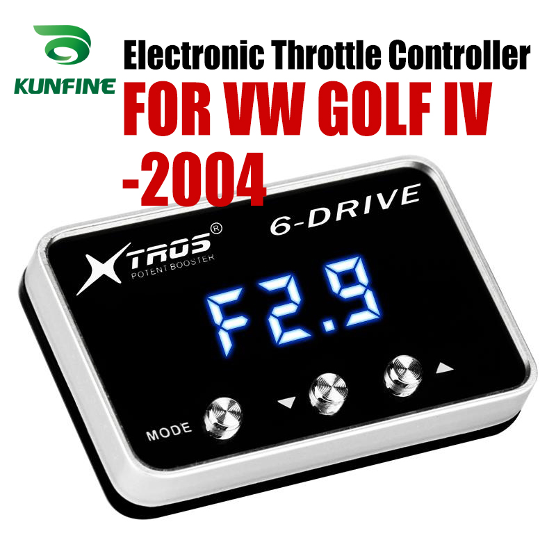 Car Electronic Throttle Controller Racing Accelerator Potent Booster For Volkswagen GOLF IV forward 2004 Diesel Tuning PartsCar Electronic Throttle Controller Racing Accelerator Potent Booster For Volkswagen GOLF IV forward 2004 Diesel Tuning Parts