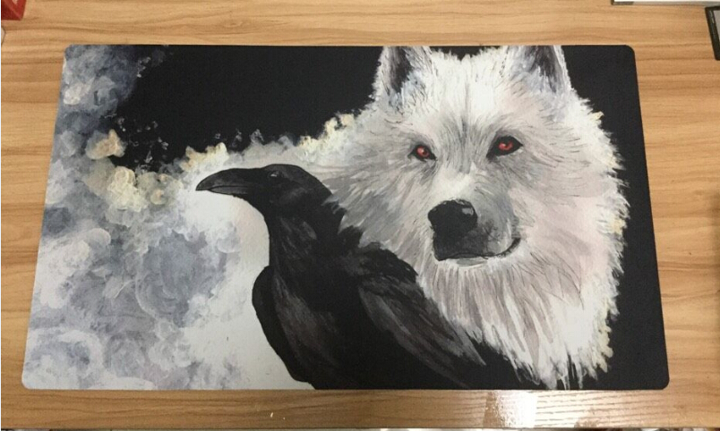 Game of Thrones Playmat wolf board game mouse pad table Table computer desk mat for magical the gathering cards game