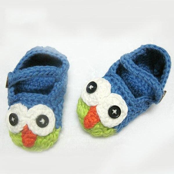 Primeros zapatos del Caminante del bebé modelo animal búho para los ...