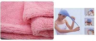 Secado de cabello de microfibra, gorros mágicos de secado rápido, toalla para el cabello, sostenedor de cola de caballo, gorra, toalla para el cabello de microfibra para mujer