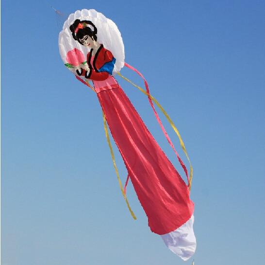 Sports d'amusement en plein air de haute qualité 6 m logiciel de puissance cerfs-volants chinois fée usine vente directe bon vol