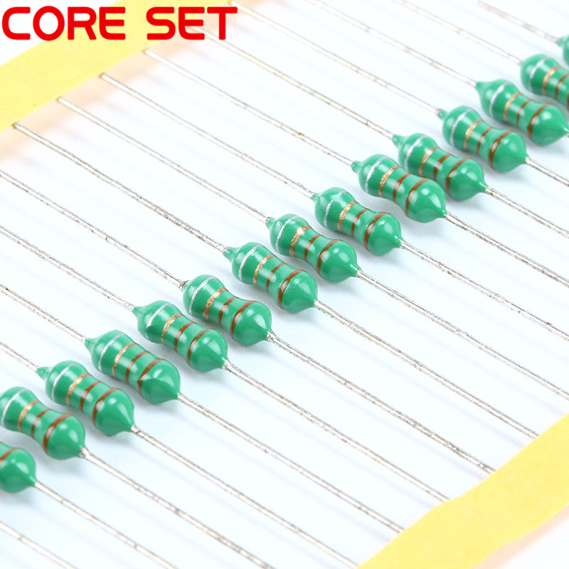 50PCS 0410 Color Ring Inductance 33uH 330K 1//2W Axial RF Choke Coil Inductor
