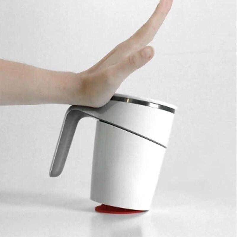 Оригинальный Xiaomi ПФР 470 мл чашки инновации магия присоски брызг Нескользящие двойная изоляция 304 Нержавеющая для офиса работников