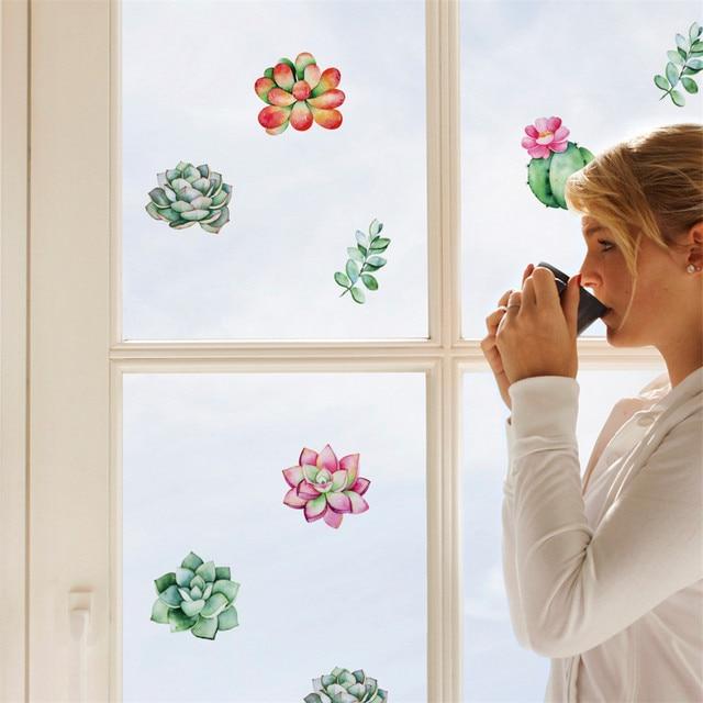المحمول الإبداعية ملصقات جدار لطيف مصنع الملصقة مع الزخرفية الجدار نافذة الديكور vinilos decorativos الفقرة باريديس