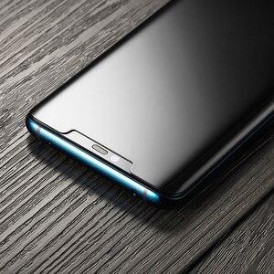 Image 5 - Akcoo UV กระจกนิรภัยสำหรับ P30 Pro Full กาวฟิล์ม HUAWEI Mate 20 Pro กระจกหน้าจอ protector