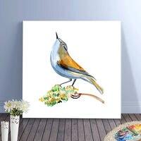 Pintura a óleo diy presente para o amante do pássaro do amor para colorir by números de flores & bird digital paint by numbers diy digital pintura