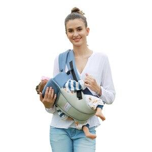 Image 3 - 1 30 months breathable ergonomic baby carrier backpack sling wrap toddler carrying baby holder belt kangaroo bag for travel