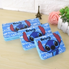 Cute Cartoon Spongebob Brand Designer Wallets Stitch Women Leather Purse Totoro Girls Clutch Lady Party Wallet Card Holder