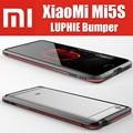 Mi5s plus original luphie 100% altamente dioxo cnc metal de alumínio bumper quadro para xiaomi mi5s nunca cair xmq1025