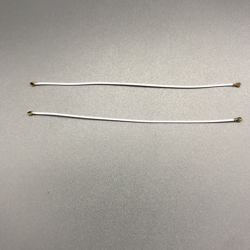 2pcs/lot White IPEX MHF4 Female To IPEX MHF4 Female  Connector Pin Antenna For NGFF M.2 Card 9cm/3.5