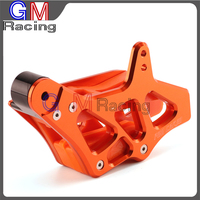 CNC Aluminum Chain Guide Guard Protection For KTM EXC EXC F SX SX F XC XC F XC FW XC W 125 530 250 350 450 500 08 15 Dirt Bike