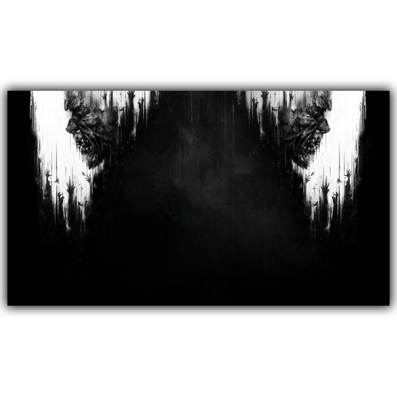 Game Poster Dying Light 2014 Game 2 Sizes Silk Fabric Canvas Poster Print Home Deco YX631