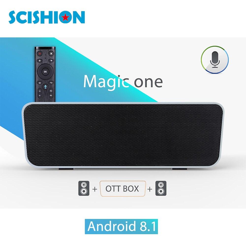 MAGIC ONE Voice Control Smart TV Box Android 8.1 2GB RAM 16GB ROM 2.4G WiFi Bluetooth 4.0 4K HD Media Player RK3328 Set Top BoxMAGIC ONE Voice Control Smart TV Box Android 8.1 2GB RAM 16GB ROM 2.4G WiFi Bluetooth 4.0 4K HD Media Player RK3328 Set Top Box